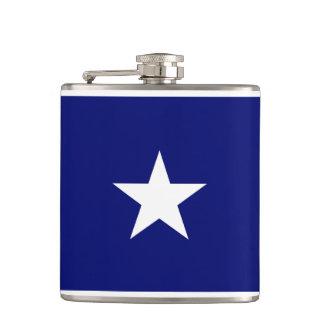 Flacon mignon de drapeau bleu