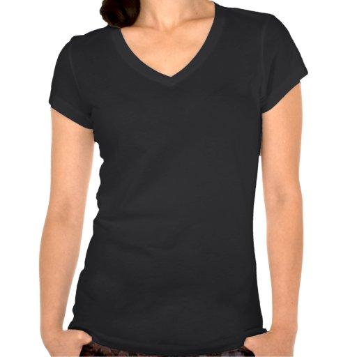 Flacon noir de geek de Saint-Valentin de coeurs T-shirts