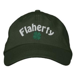 Flaherty - trèfle de quatre feuilles - customisé casquette brodée