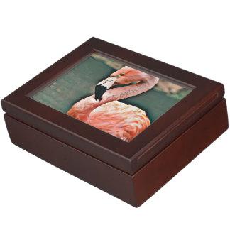 Flamant Boîtes À Souvenirs