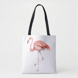 Flamant rose sac