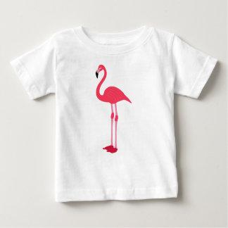 Flamant rose t-shirt pour bébé