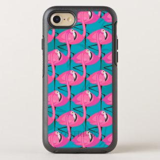 Flamants au néon coque otterbox symmetry pour iPhone 7