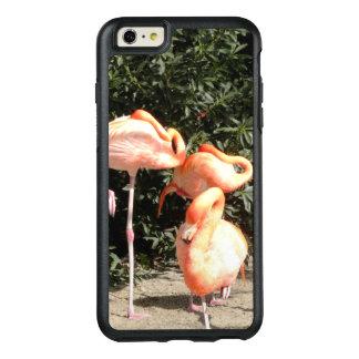 Flamants de sommeil coque OtterBox iPhone 6 et 6s plus