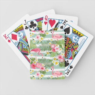 Flamants et rayures jeu de cartes