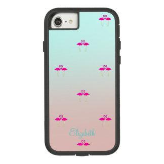 Flamants roses adorables dans Amour-Personnalisé Coque Case-Mate Tough Extreme iPhone 7