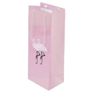 sacs cadeaux flamant rose. Black Bedroom Furniture Sets. Home Design Ideas