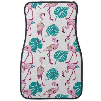 Flamants roses tapis de sol