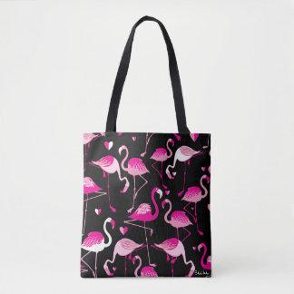 Flamants Tote Bag