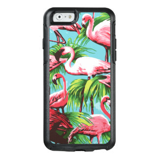 Flamants tropicaux roses coque OtterBox iPhone 6/6s