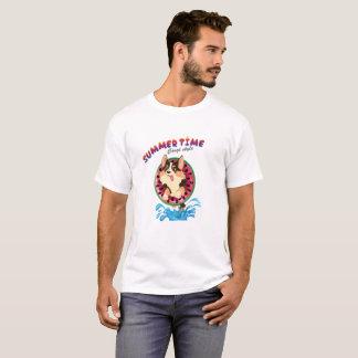 Flambe le corgi - été t-shirt