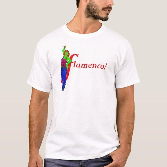 Flamenco ! Chemise de muscle de Sevillana des T-shirt