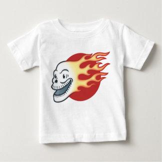 Flameskull - rétro t-shirt pour bébé