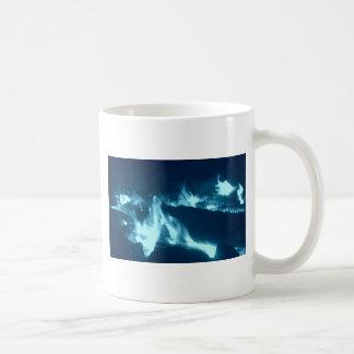 Flamme bleue mug