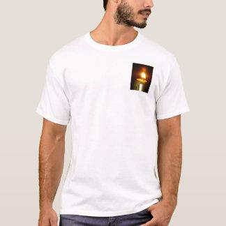flamme de bougie t-shirt