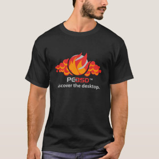 Flamme de PC-BSD T-shirt