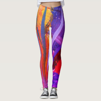 Flammes pourpres leggings