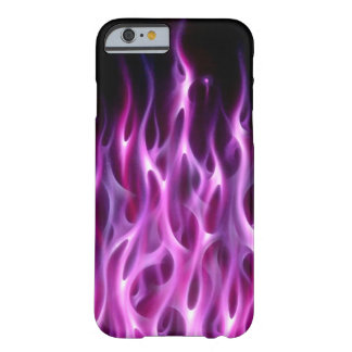 Flammes violettes - cas de l'iPhone 6 Coque iPhone 6 Barely There