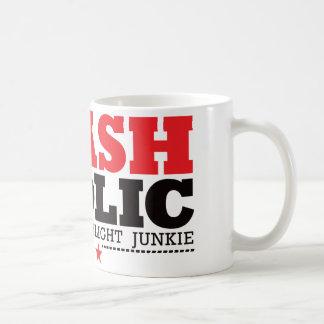 Flashaholic - drogué final de lampe-torche - rouge mug