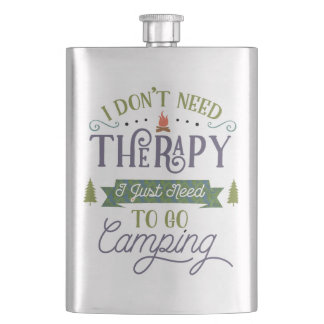 Flasque Camper pas thérapie