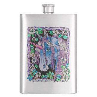 Flasque Forêt affligée de licorne
