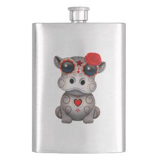 Flasque Jour rouge de l'hippopotame mort de bébé