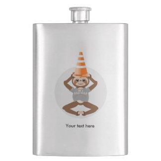 Flasque La paresse soit un cône de sécurité de licorne