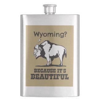 Flasque Le Wyoming ? Puisqu'il est beau