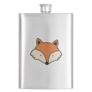 Flasque Motif de Fox