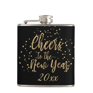 Flasques Acclamations à la mode à la nouvelle année