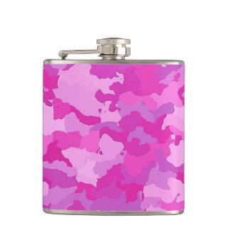 Flasques Camo rose et pourpre