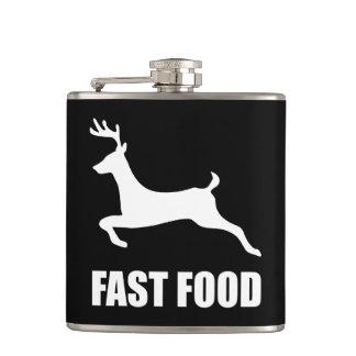 Flasques Chasse de cerfs communs d'aliments de préparation