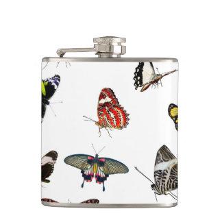 Flasques Collage de collection de papillon