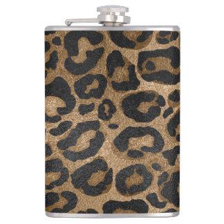 Flasques Copie d'or et noire de Jaguar de léopard de