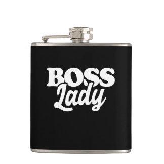 Flasques dame de patron