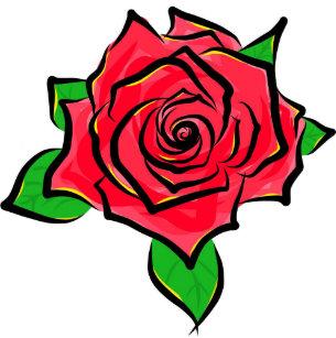 Articles Simple De Dessin Rose Rouge De Maison Décoration