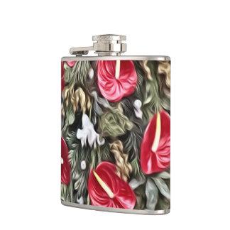 Flasques disposition florale extraordinaire de Noël