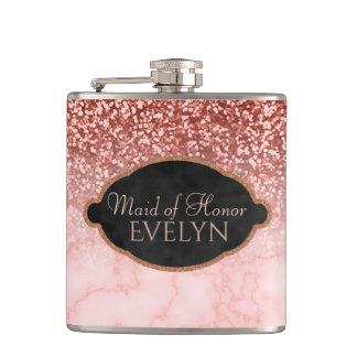Flasques Domestique du mariage rose de marbre de parties