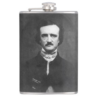 Flasques Edgar Allen Poe avec la citation
