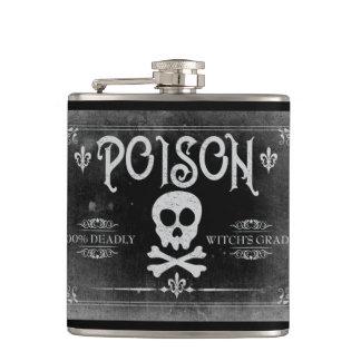 Flasques Étiquette de poison