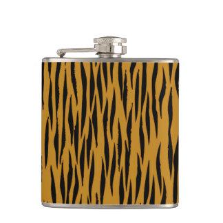Flasques Faux Tigerprint d'amusement