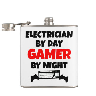 Flasques Gamer d'électricien