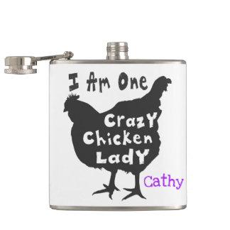 Flasques Je suis une Madame folle de poulet