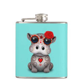 Flasques Jour rouge de l'hippopotame mort de bébé