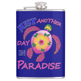 Flasques Juste un autre jour dans le paradis