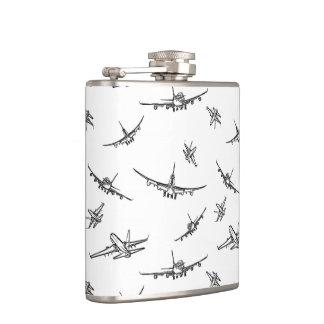 Flasques L'avion esquisse //