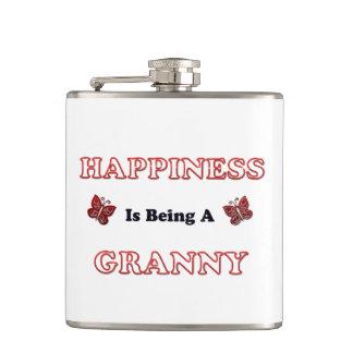 Flasques Le bonheur est mamie