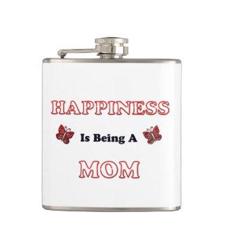 Flasques Le bonheur est une maman