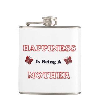 Flasques Le bonheur est une mère