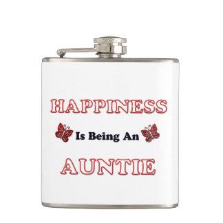 Flasques Le bonheur est une tante